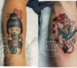 Oni Tattoo Tatouage Queven Lorient Guidel Ploemeur Gestel Quimperle Lanester Traditionnel Old School Japonais Morbihan Bretagne