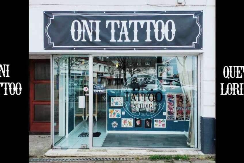 Oni Tattoo Tatouage Queven Lorient Guidel Ploemeur Gestel Quimperle Lanester Traditionnel Old School Japonais Morbihan Bretagne Centre Ville
