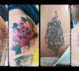 Oni Tattoo Tatouage Queven Lorient Guidel Ploemeur Gestel Quimperle Lanester Traditionnel Old School Japonais Morbihan Bretagne Recouvrement