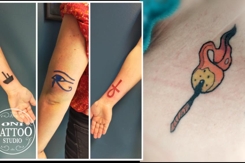 Oni Tattoo Tatouage Queven Lorient Guidel Ploemeur Gestel Quimperle Lanester Traditionnel Old School Japonais Morbihan Bretagne Symboles